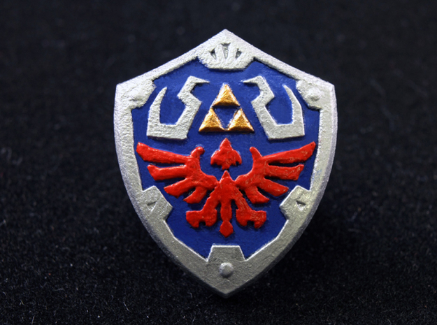 Royal Shield III in Smooth Fine Detail Plastic