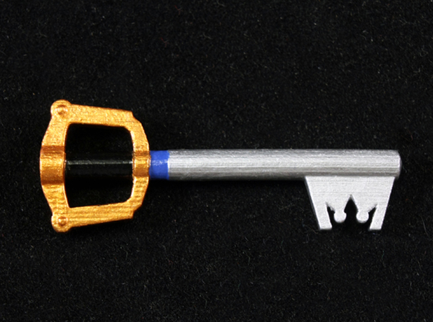 Keyblade in Smooth Fine Detail Plastic