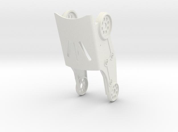 HR-OS5 Tibia V2 in White Natural Versatile Plastic