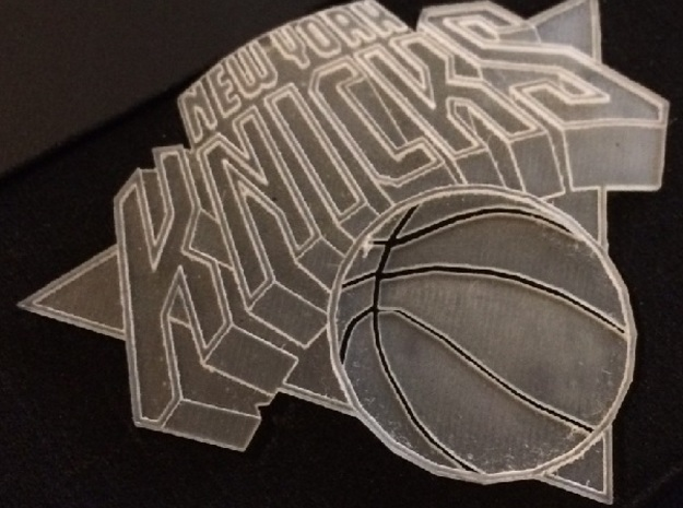 KNICKS EMBLEM in Frosted Ultra Detail