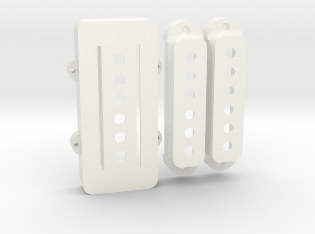 Pawn Shop Bass VI Set in White Strong & Flexible Polished