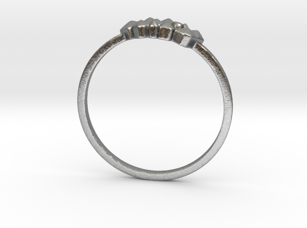 Crystallized Ring (all size 4-13) in Natural Silver: 7 / 54