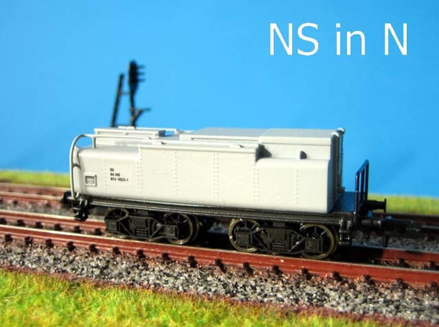 N Watertender NS slijptrein