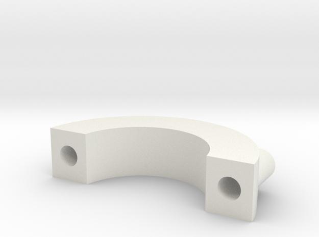 Gun Clip P1.1 in White Strong & Flexible