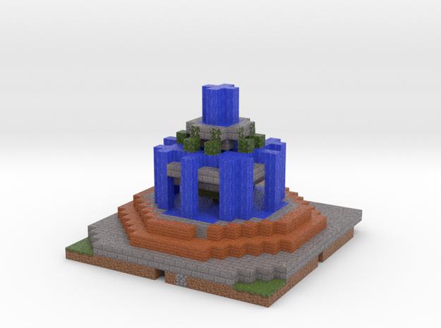 Fountain in Full Color Sandstone
