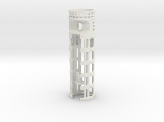 "NWL Maverick - All-in-One 1.14""OD - I2 + 18650 in White Natural Versatile Plastic"
