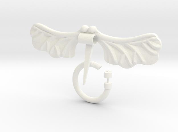 Sansa Stark Seed Pod Penannular Pin Kit in White Processed Versatile Plastic