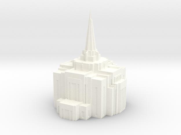 Gilbert, Arizona LDS Temple 3d printed