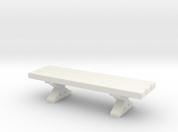 Tabletop: Trestle Table- Bench