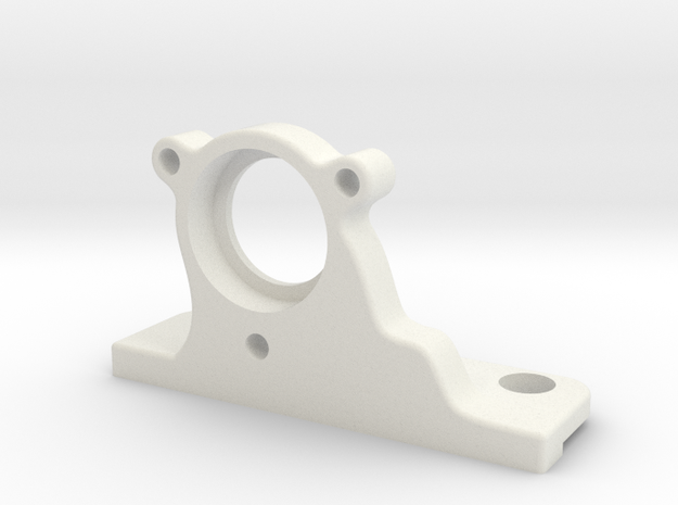 Half-inch Ex Filter Holder VORTRAN in White Natural Versatile Plastic