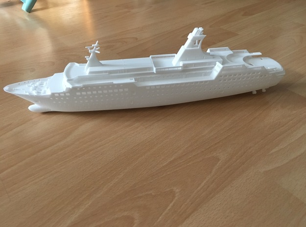 Arkona, Hull (1:400, RC) in White Natural Versatile Plastic