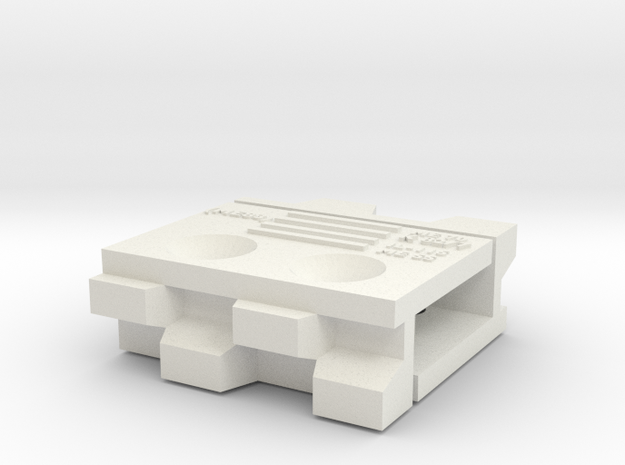 14mm Baseboard Join C7p in White Strong & Flexible