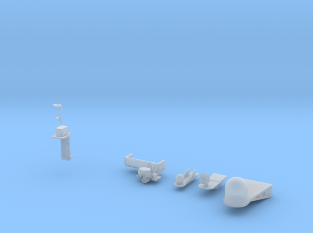 1:350 Scale Nimitz Class Electronics Platforms #1