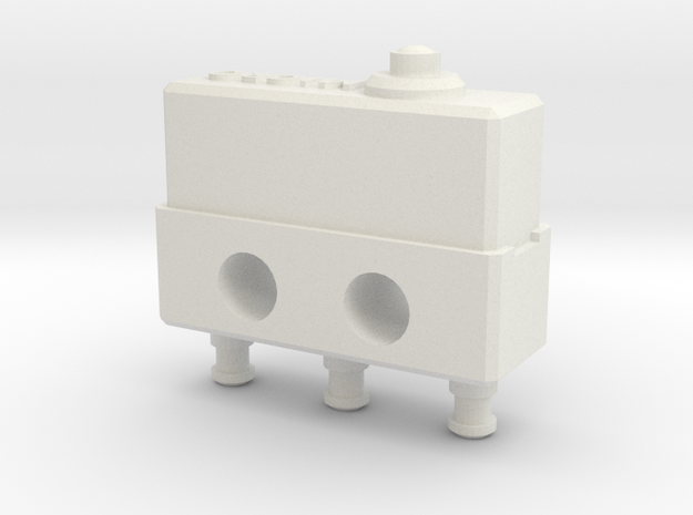 Honeywell Micro Switch in White Natural Versatile Plastic