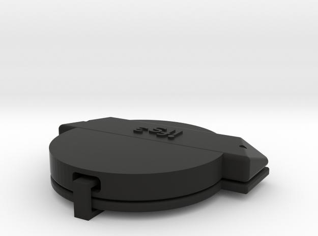 11009R0 TrackR Mount Light RCP in Black Natural Versatile Plastic