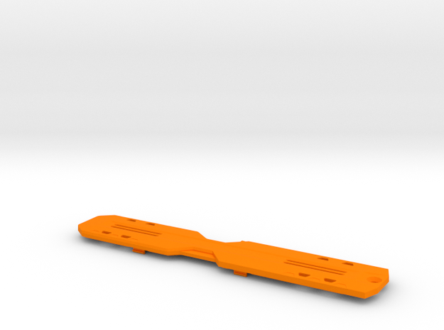 TUF M.2 Armor in Orange Processed Versatile Plastic