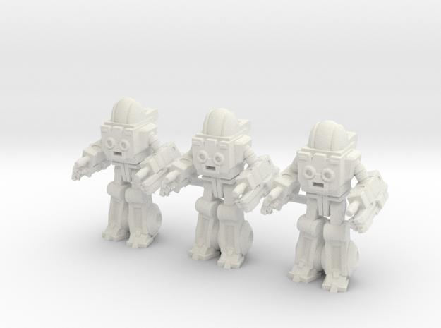 Autobot Exosuit Squad of 3, 35mm miniatures