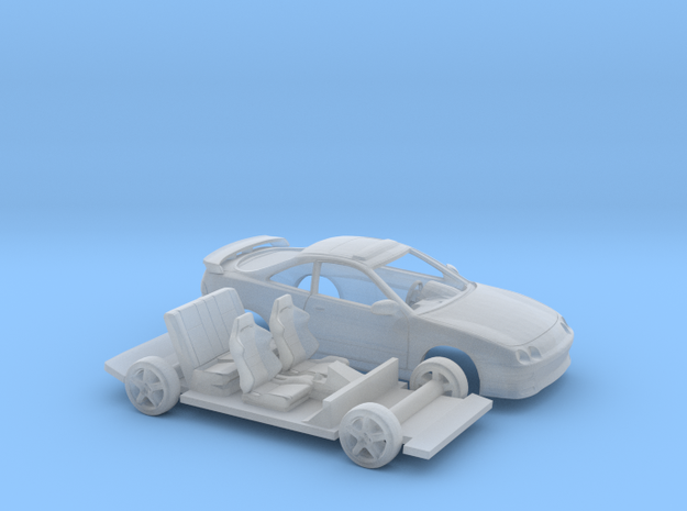 1/148 1996 Acura Integra Two Piece Kit in Smooth Fine Detail Plastic