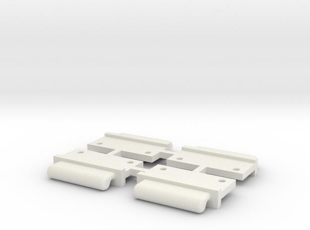 FixAV Mosler v2 MiniZ 4pc in White Strong & Flexible