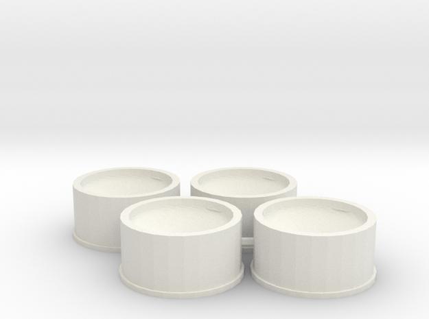 Jantes 21,5x11 ET0 MiniZ in White Strong & Flexible
