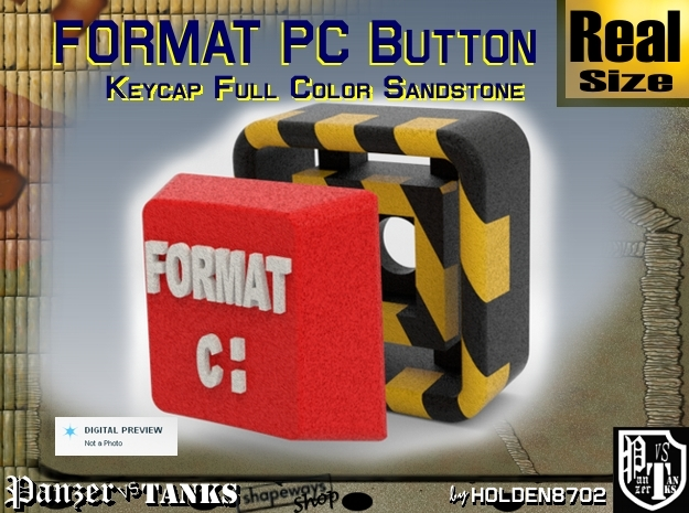 Full Color Key of Format PC