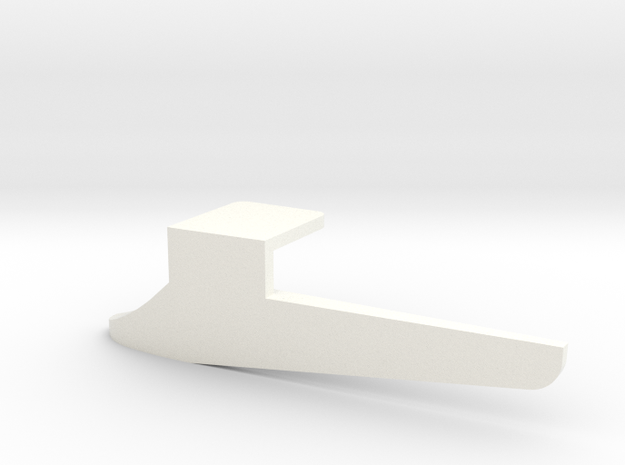 Fender flap rear left Startech D110 Team Raffee 3/ in White Processed Versatile Plastic