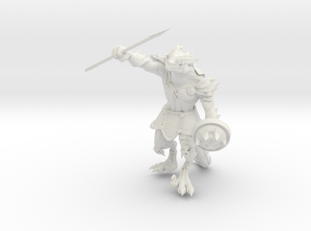 Mini General Dungore in White Natural Versatile Plastic