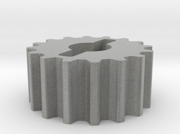 Poulie 16 dents Yz4 in Metallic Plastic