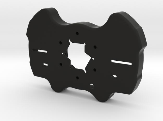 Race Wheel - Rear Enclosure - Audi GT3 Style in Black Natural Versatile Plastic