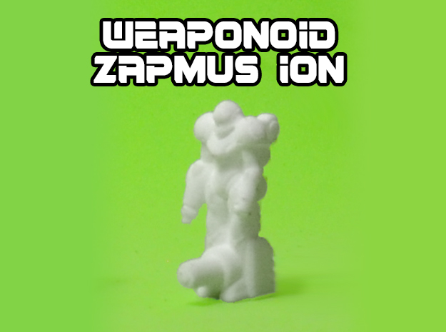 Zapmus Ion Transforming Weaponoid Kit (5mm) in White Natural Versatile Plastic