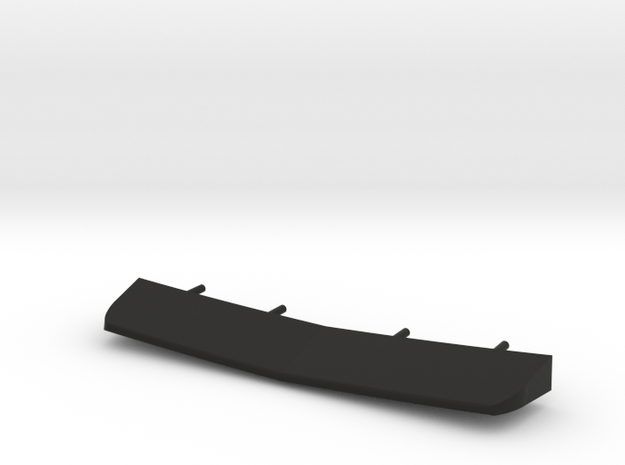 1/120 Burke Stern Flap in Black Natural Versatile Plastic
