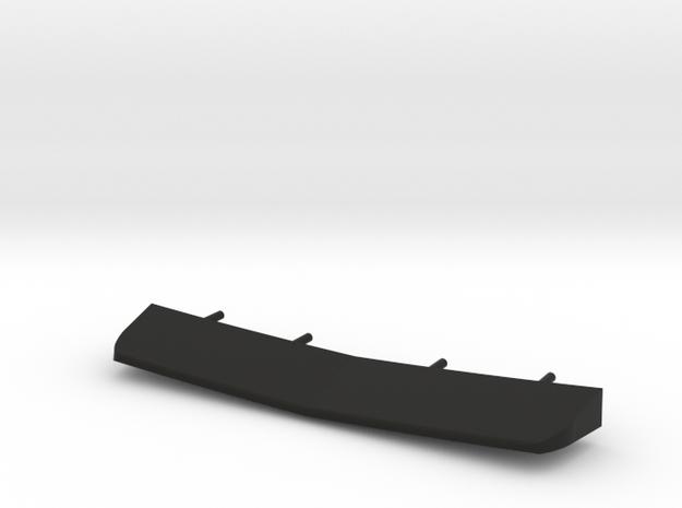 1/120 Burke Stern Flap in Black Natural Versatile Plastic