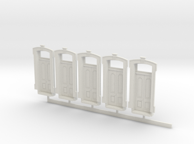 HO WCK 4ft 10in Doors X 5 in White Natural Versatile Plastic