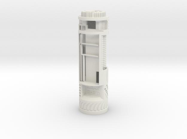 KR Luke Hero -  Master Chassis Part1 Var1 - Main in White Natural Versatile Plastic
