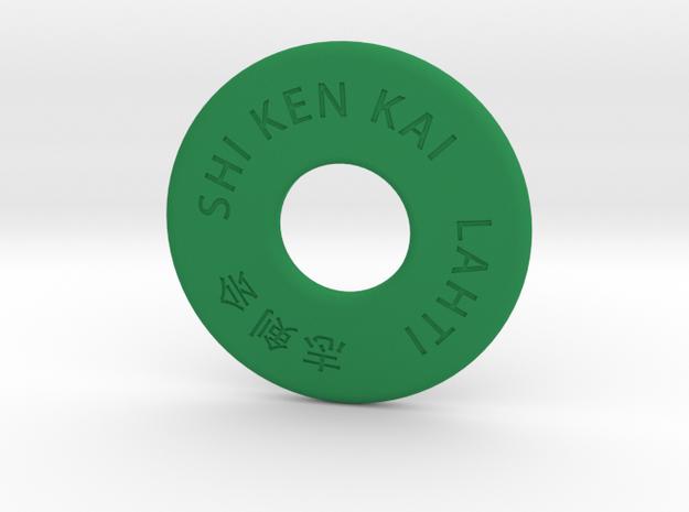 Shinai S in Green Strong & Flexible Polished