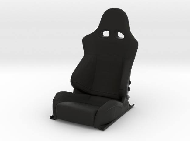 Sport Seat F-Enzo Type - LEFT - 1/10 in Black Natural Versatile Plastic