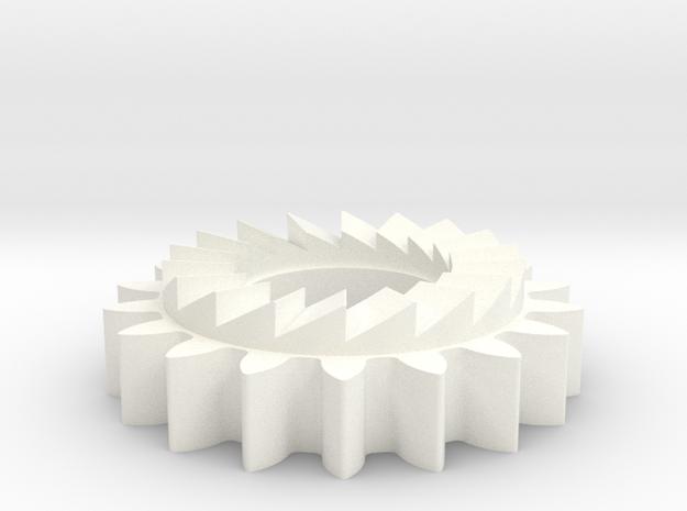 BSA E35 kickstart pinion 57-4250 in White Strong & Flexible Polished