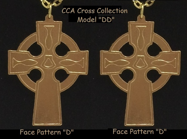 CCA Cross Collection - Model DD in Natural Bronze