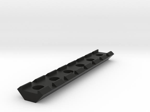 21mm Rail 115mm in Black Natural Versatile Plastic
