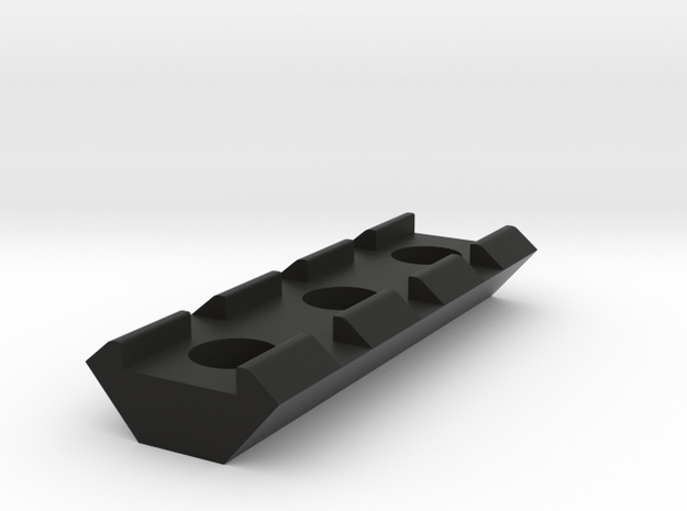 20mm Rail 55mm in Black Natural Versatile Plastic