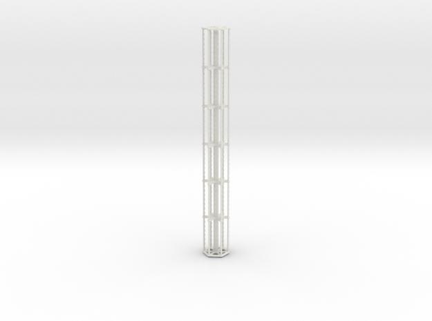 30 Foot Finger reel in White Natural Versatile Plastic