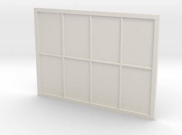 1:24 Scale Colonial Style Window 5' x 7'