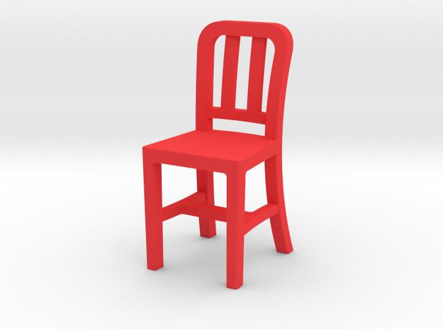RedChair in Red Processed Versatile Plastic