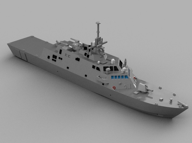 1/1800 USS Freedom in Smooth Fine Detail Plastic