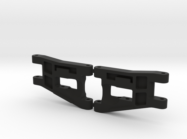 RC10 A-ARM FRONT LWB-001 in Black Natural Versatile Plastic