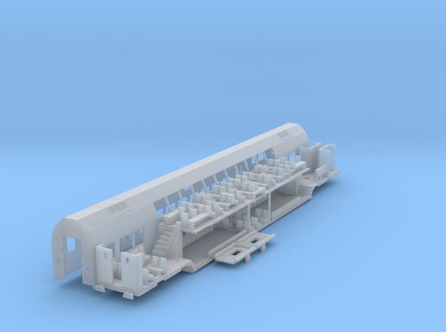 Mittelwagen Tief Bausatz (repariert) in Frosted Ultra Detail