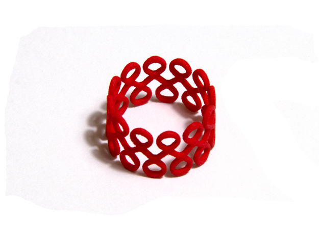 Eighty-Eight Ring in Red Strong & Flexible Polished: 8.5 / 58