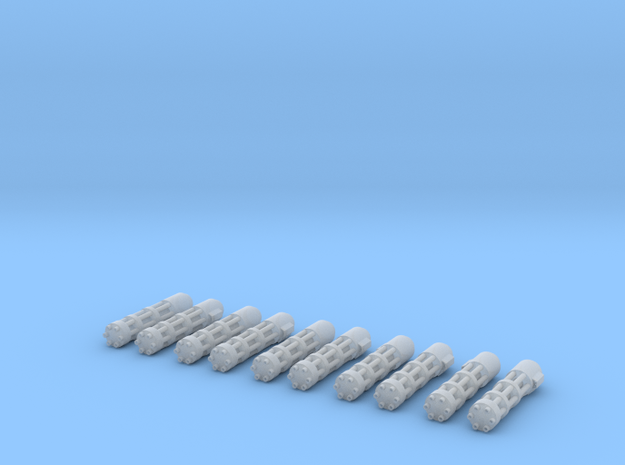 Big Gatling Set in Frosted Ultra Detail
