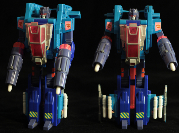 Transformers Turbomaster Missile 3d printed