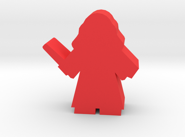 Game Piece, Student Witch, standing in Red Processed Versatile Plastic